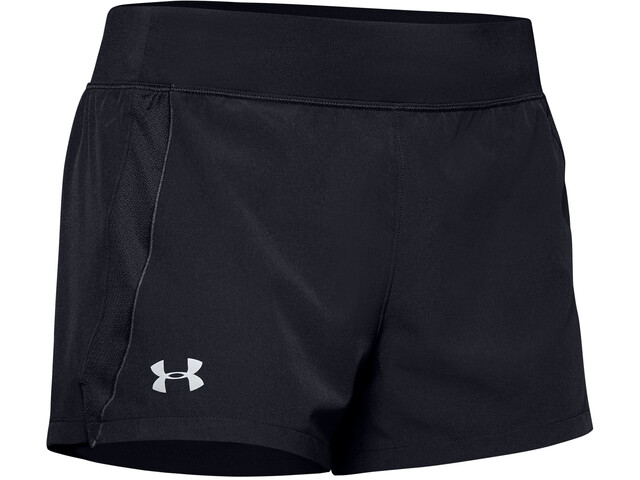 Under Armour Qualifier Speedpocket Shorts Damer, sort